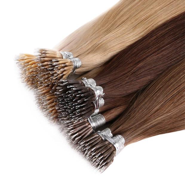 Nano tip hair