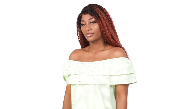 T#1B-#4 LACE WIG CURLY